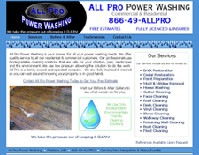 all pro power washing th
