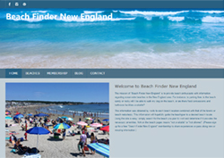 beach finder new england