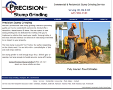 precision stump grinding th